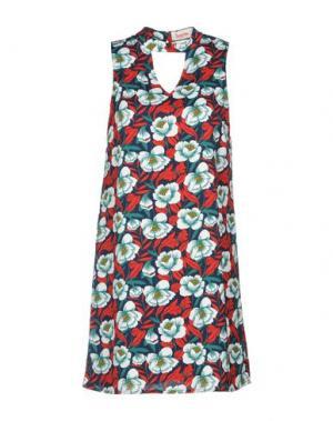 Короткое платье LOUCHE. Цвет: красный