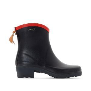 Ботинки непромокаемые Miss Juliette AIGLE. Цвет: темно-синий/ красный