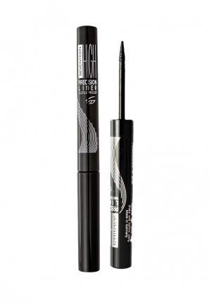 Подводка для глаз Seventeen т.01 High Precision Liner Waterproof угольно-черный. Цвет: черный