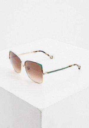 Очки солнцезащитные Carolina Herrera C-Herrera-172-33M. Цвет: коричневый