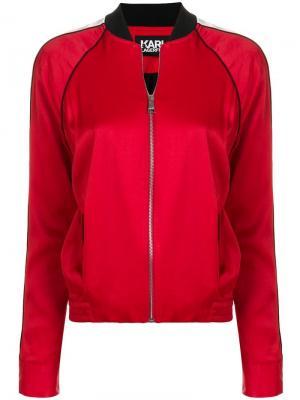 Куртка-бомбер Karl Signature Lagerfeld