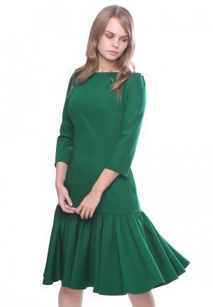 Платье Marichuell NANA. Цвет: зеленый