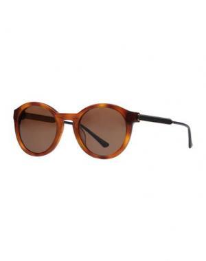 Солнечные очки THIERRY LASRY. Цвет: коричневый