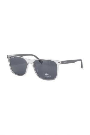 Очки солнцезащитные Lacoste. Цвет: серый