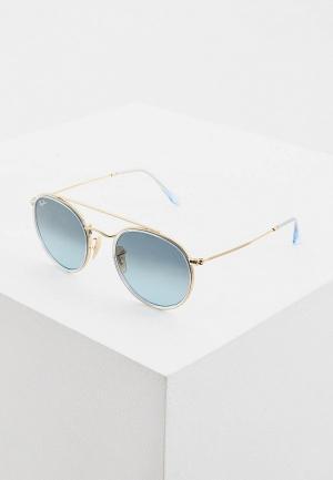 Очки солнцезащитные Ray-Ban® RB3647N 91233M. Цвет: золотой