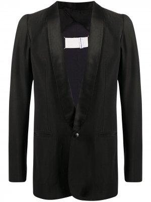 Пиджак-смокинг на пуговице 1990-х годов Maison Martin Margiela Pre-Owned. Цвет: черный