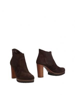Полусапоги и высокие ботинки ELATA. Цвет: темно-коричневый