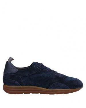 Низкие кеды и кроссовки ALEXANDER HOTTO. Цвет: темно-синий
