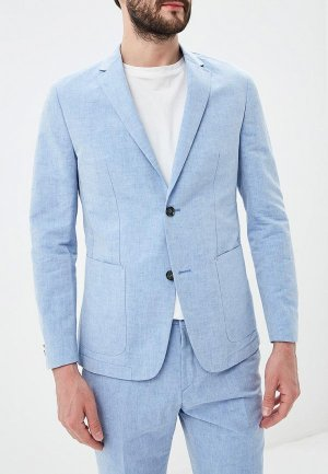 Пиджак Calvin Klein. Цвет: голубой