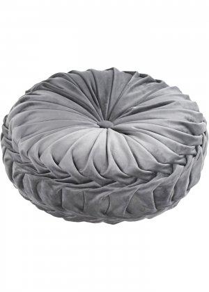 Подушка декоративная bonprix. Цвет: серый