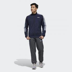 Спортивный костюм Essentials Athletics adidas. Цвет: серый
