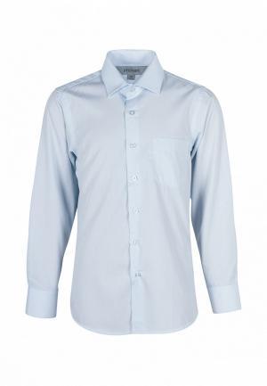 Рубашка Stenser. Цвет: голубой