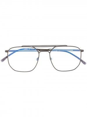 Aviator-style glasses Lacoste. Цвет: черный