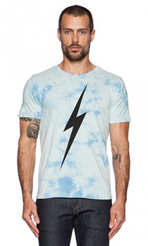 Футболка с рисунком forever td Lightning Bolt. Цвет: синий