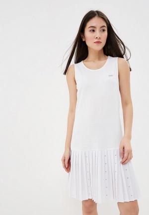 Платье Liu Jo Sport. Цвет: белый