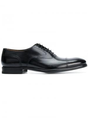 Ботинки-оксфорды Henderson Baracco. Цвет: черный