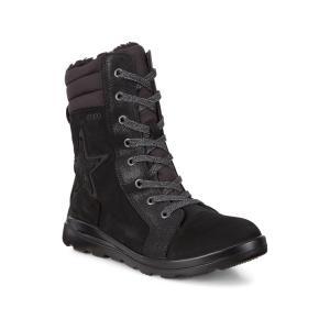 Ботинки высокие JANNI ECCO. Цвет: черный
