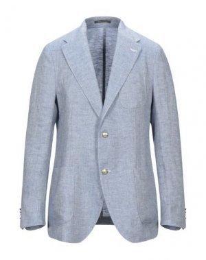 Пиджак ROYAL ROW. Цвет: небесно-голубой