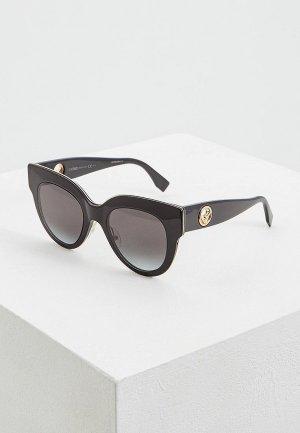 Очки солнцезащитные Fendi FF 0360/G/S 807. Цвет: черный