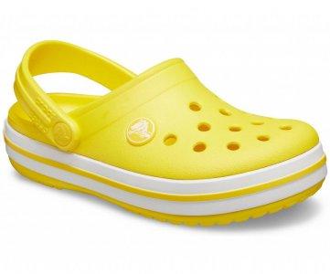 Сабо детские CROCS Crocband™ clog (Kids) Lemon арт. 204537. Цвет: lemon