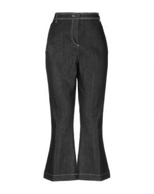 Джинсовые брюки GOTHA. Цвет: черный