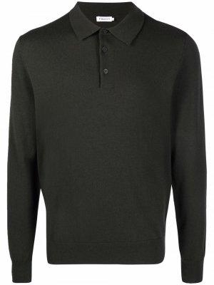 Трикотажная рубашка поло Filippa K. Цвет: зеленый