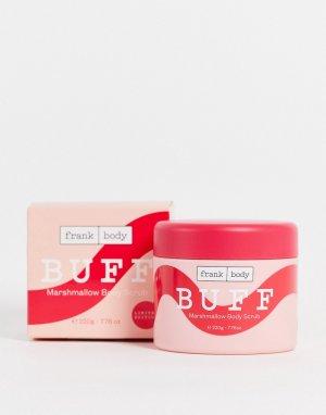 Скраб для тела с ароматом маршмеллоу Frank Body Buff Marshmallow, 220 г-Бесцветный