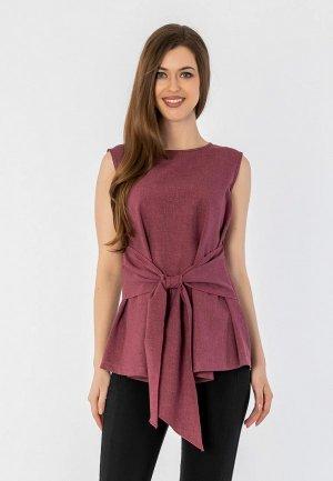Топ S&A Style. Цвет: фиолетовый