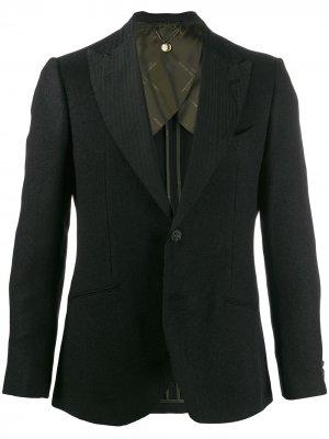 Пиджак узкого кроя Maurizio Miri. Цвет: черный