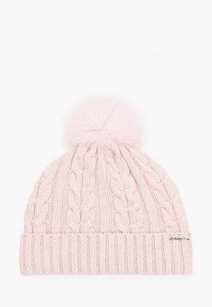 Шапка Aleksa an. Цвет: розовый