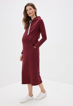 Платье Fest 1-235505Е. Цвет: бордовый