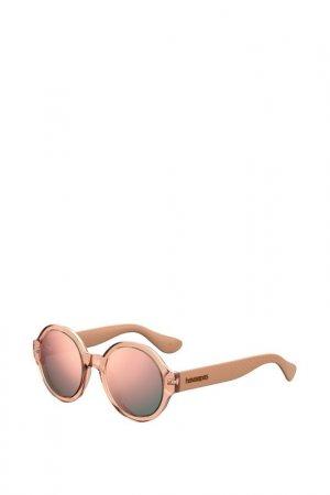 Солнцезащитные очки Havaianas. Цвет: бежевый