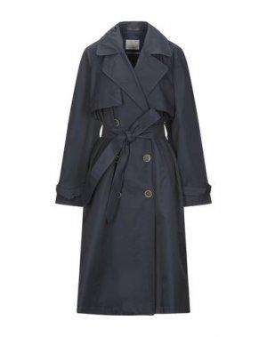 Легкое пальто GLOVERALL. Цвет: темно-синий