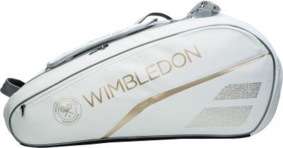 Сумка для 6 ракеток RH X6 PURE WIMBLEDON Babolat. Цвет: белый