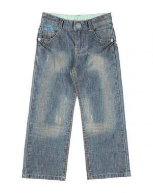 Джинсовые брюки IKKS. Цвет: синий