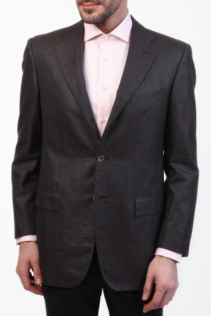 Пиджак Zilli. Цвет: коричневый