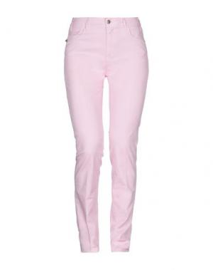 Повседневные брюки TRAMAROSSA. Цвет: розовый