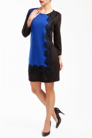 Платье Ada Gatti. Цвет: синий