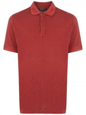 Рубашка поло с короткими рукавами Michael Kors. Цвет: красный