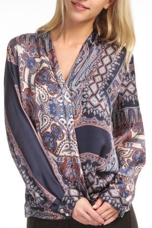 Блуза TOK. Цвет: мультицвет