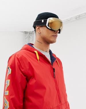 Защитные очки горнолыжника со сменными белыми стеклами M2 MFI Anon. Цвет: белый