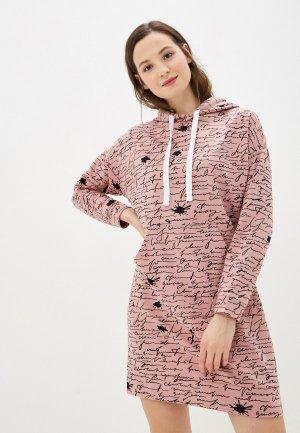 Платье Агапэ. Цвет: розовый
