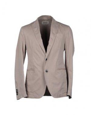 Пиджак RODA. Цвет: светло-серый
