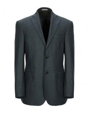 Пиджак ANGELO NARDELLI. Цвет: темно-зеленый