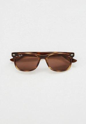 Очки солнцезащитные Ray-Ban® RJ9052S 152/73. Цвет: коричневый