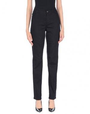 Джинсовые брюки GARDEUR. Цвет: черный