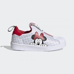Кроссовки-слипоны Superstar 360 X Originals adidas. Цвет: черный