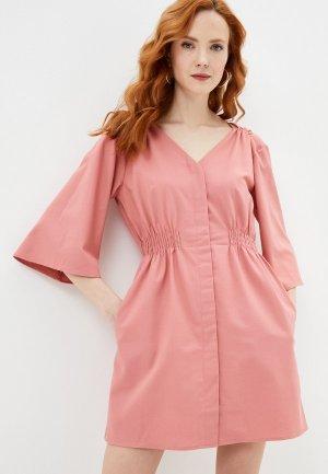 Платье Francesco Donni. Цвет: розовый