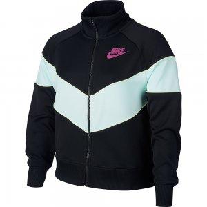 Sportswear Heritage Full Zip Nike. Цвет: черный