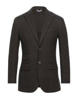 Пиджак LUBIAM. Цвет: темно-коричневый